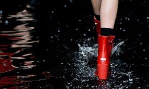 Hunter Original: Runway - London Fashion Week AW14