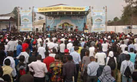 Amani festival in Goma