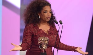 Oprah Winfrey in full aria at the Royal Opera House