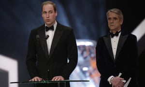 Great pretenders …Prince William and Jeremy Irons.
