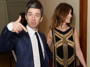 Done …Noel Gallagher and Sara MacDonald.