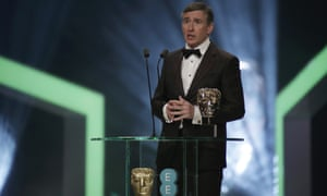 Presenter and correct …Steve Coogan, who host Stephen Fry suggested could take over the MC duties.