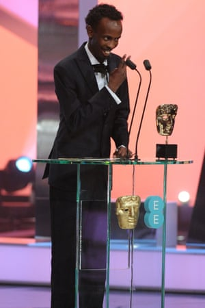 Oh Captain, my captain …Barkhad Abdi's best supporting actor win was a highlight.