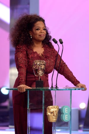 Royal Oprah house …Winfrey rules the stage.