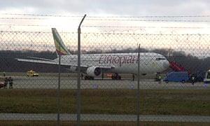 The hijacked Ethiopian Airlines flight landed in Geneva.