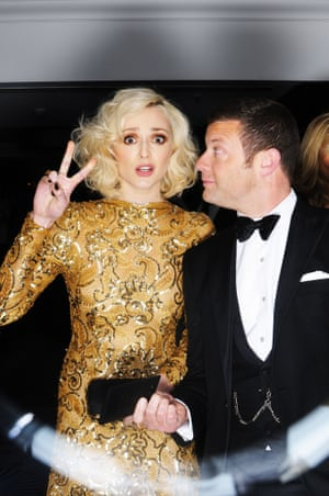 Fearne Cotton and Dermot O'Leary.