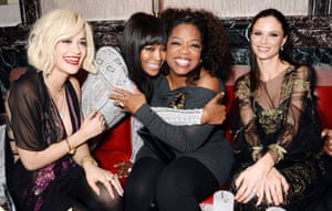 Rita Ora, Naomi Campbell, Oprah Winfrey and Georgina Chapman at The Weinstein Co, Entertainment and Pathe, post-BAFTA party hosted by  hosted by Bulgari and Grey Goose at Rosewood London