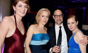 Felicity Blunt, Gillian Anderson, Stanley Tucci and Amy Adams at the Weinstein do