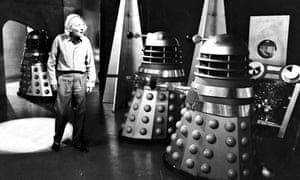 William Hartnell as the Doctor with the Daleks in 1963