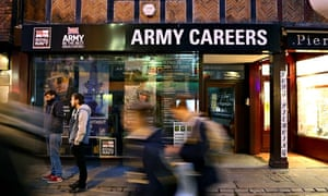 Army careers office in Canterbury