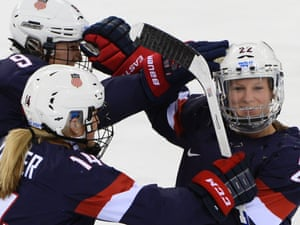 d1c3e860528 There s been plenty to celebrate for Team USA in their semifinal women s ice  hockey game vs