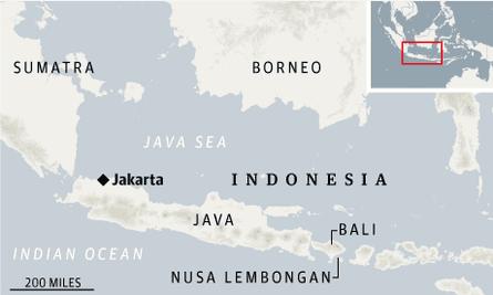 Bali map