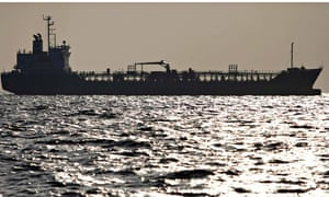 Ships offshore of Yokohama, Japan