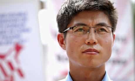 North Korean refugee and human rights activist Shin Dong-hyuk