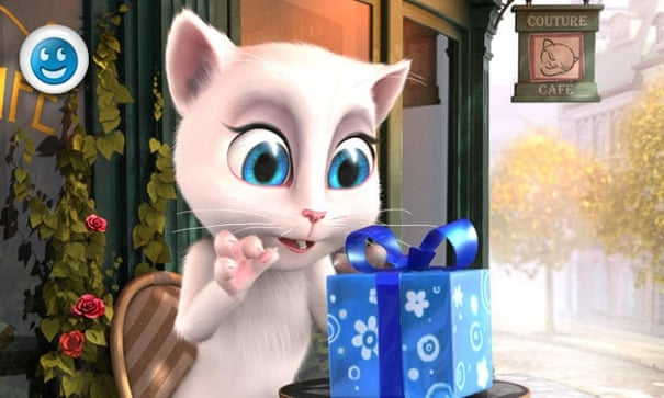 What the Talking Angela app is really saying to your kids