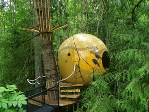 World's best hotels: Free Spirit Spheres, British Columbia, Canada
