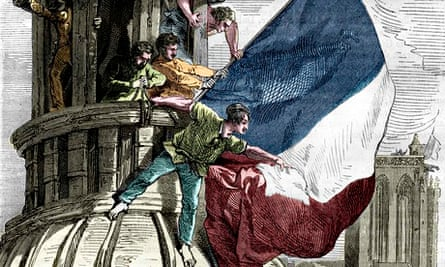 Tricolor Flag French Revolution