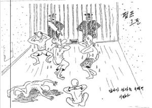 'Pump interrogation – ordered to do hundred sit-ups'