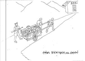 Dead bodies taken to the crematorium
