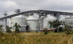 Alcoa aluminium smelter at Point Henry in Geelong