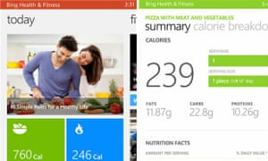 The Bing Health & Fitness app is available as a beta for Windows Phone.