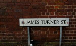 James Turner Street in Birmingham, dubbed Benefits Street by Channel 4.