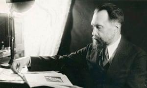Nikolai Myaskovsky, Russian composer, 1940s.