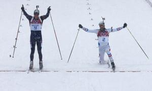 Emil Hegle Svendsen wins the men's biathlon 15km mass start