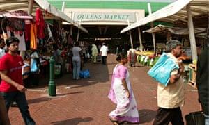 Queen's Market, Green Street, London
