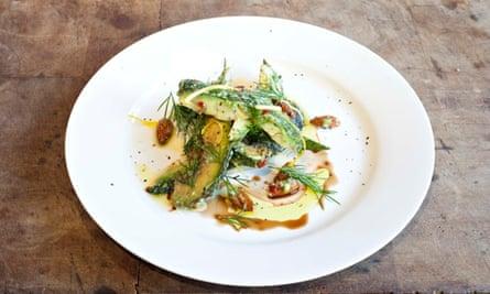 Avocado salad Chriskitch, Tetherdown, Muswell Hill, London