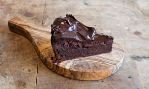 Flour-less chocolate cake at Chriskitch, Tetherdown, Muswell Hill, London