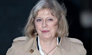 Theresa May, home secretary