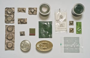 Spanish Army ration pack.