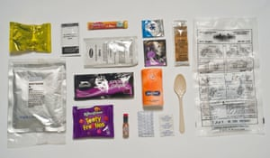 Danish Army ration pack.