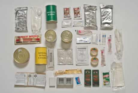 Italian Army ration pack.