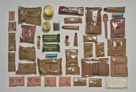 Australian Army ration pack.