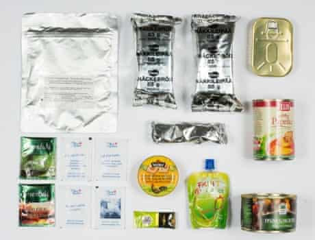 Estonian Army ration pack.