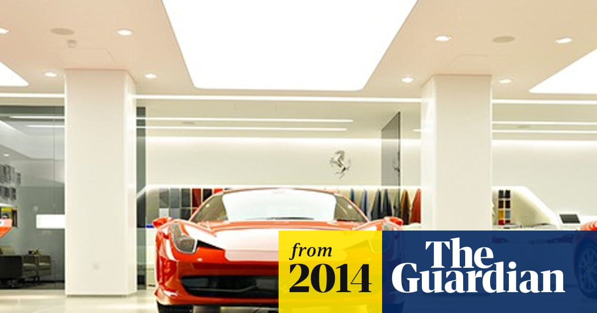 More Ferraris Sold In The Uk Than Anywhere Else In Europe Automotive Industry The Guardian