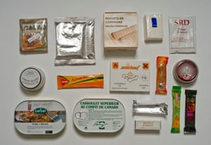 French Army ration pack.