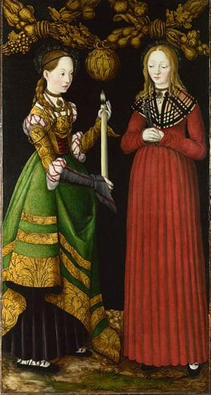 Strange Beauty: Saints Genevieve and Apollonia