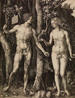 Strange Beauty: Adam and Eve