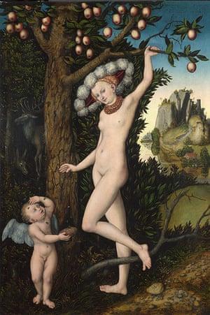 Strange Beauty: Cupid complaining to Venus