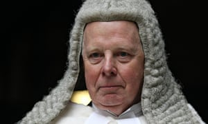 Lord Thomas, lord chief justice