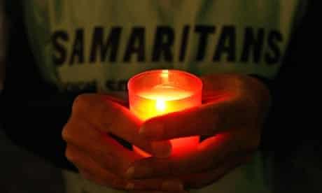 Vigil for World Suicide Prevention Day  2007