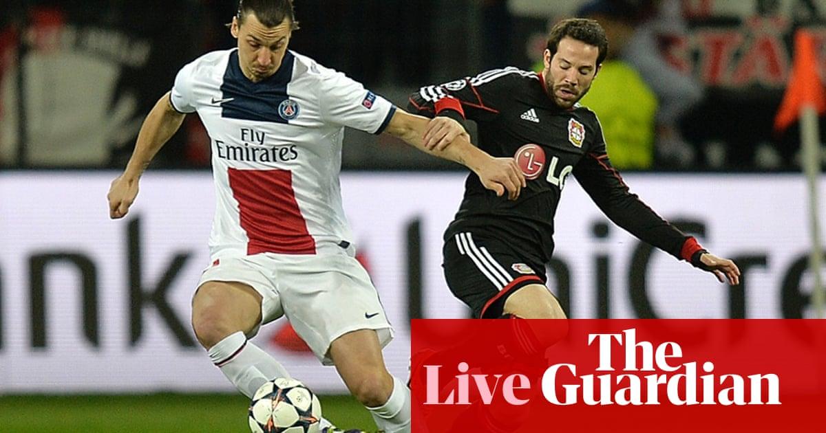 Bayer Leverkusen v PSG – as it happened | Rob Smyth