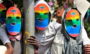 Kenyan LGBT supporters