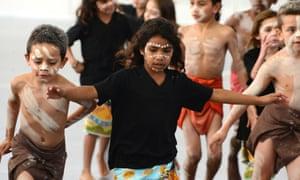 Indigenous school children
