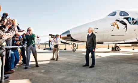 Richard Branson SpaceShipTwo