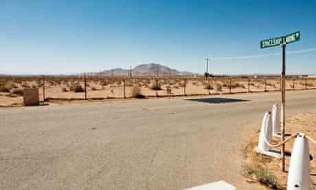Mojave Desert virgin galactic