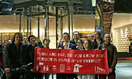 Push Your Parents campaign banner